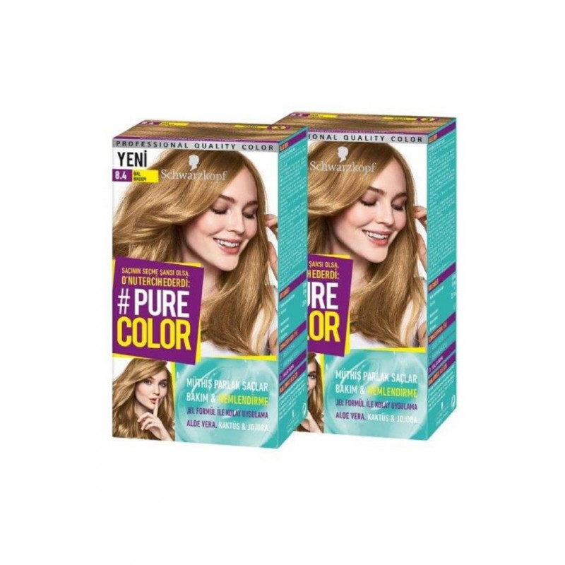 Pure Color 8-4 Bal Badem x2 Adet