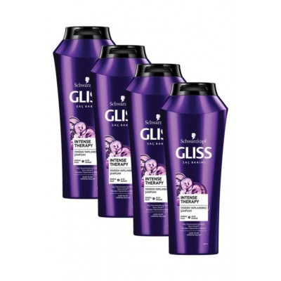 Gliss Intense Theraphy Şampuan 500 ml x 4 Adet