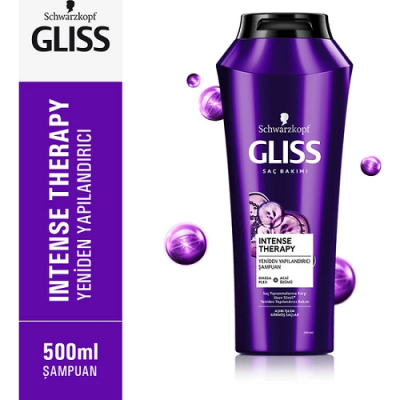 Gliss Intense Therapy Şampuan 500 Ml