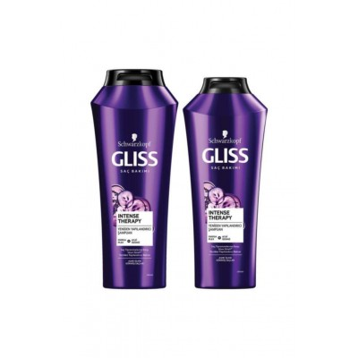 Gliss Intense Theraphy Şampuan 500 ml + Intense Theraphy Şampuan 360 ml