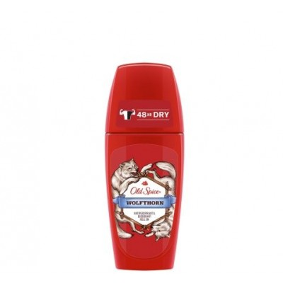 Old Spice Roll On Deodorant 50 ml Wolfthorn