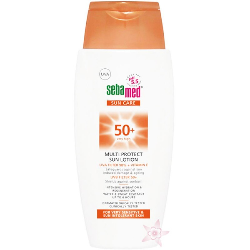 Sebamed Sun Care Multi Protect Spf 50+150 Ml Güneş Losyonu