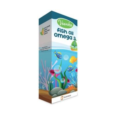 Voonka Fish Oil Omega 3 150ml Skt:01/2021